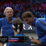 Borg, Federer and Nadal Giving Advice