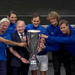 Laver Cup Trophy Ceremony