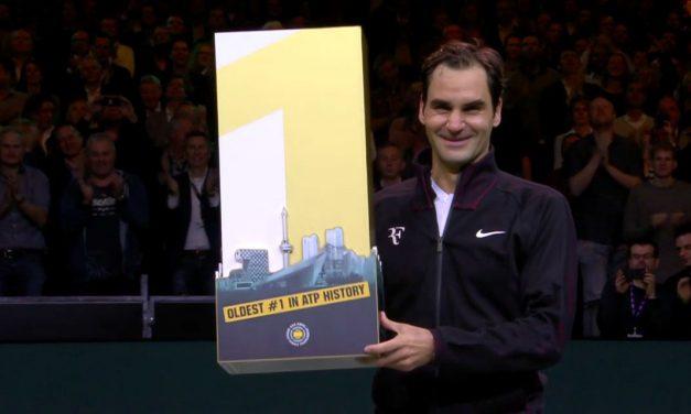 Roger Federer Returns to #1