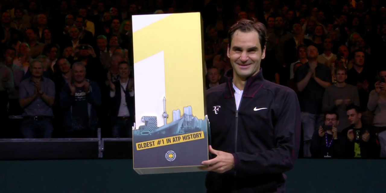 Roger Federer Returns to #1