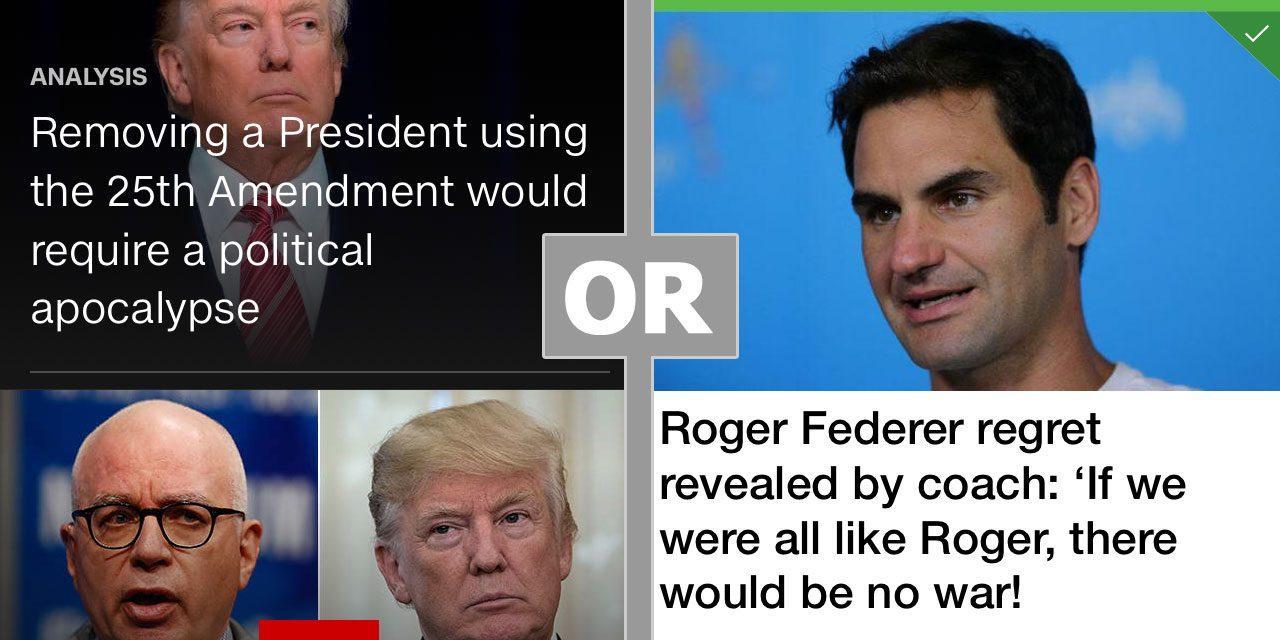 Federer as Anti-Depressant