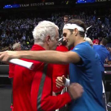 McEnroe and Federer