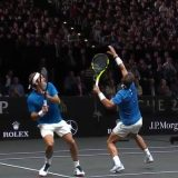 Federer and Nadal Go For a Shot