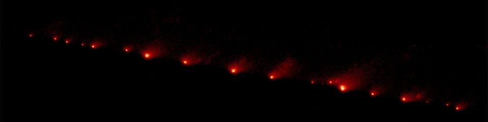 Comet Shoemaker Levy 9 in 1994